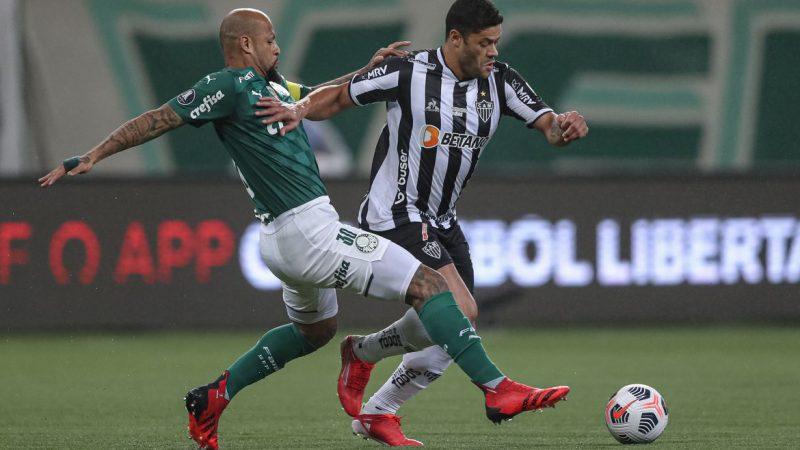 Libertadores: Atlético-MG e Palmeiras decidem vaga na final na noite desta terça-feira